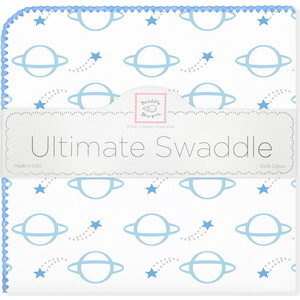 Пеленка фланель для новорожденного SwaddleDesigns Ultimate Planets Blue bso silverstein holst planets strauss zarathus