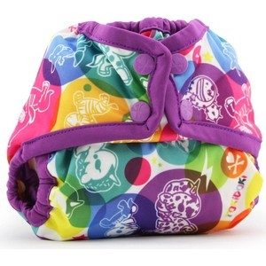 Подгузник для плавания Kanga Care Newborn Snap Cover - tokiCorno/Orchid все цены