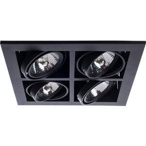Встраиваемый светильник Arte Lamp A5930PL-4BK встраиваемый светильник artelamp a5930pl 3bk