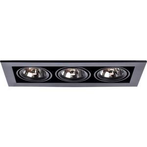 Встраиваемый светильник Arte Lamp A5930PL-3BK встраиваемый светильник artelamp a5930pl 3bk