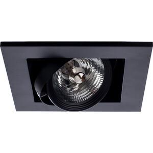 Встраиваемый светильник Arte Lamp A5930PL-1BK встраиваемый светильник artelamp a5930pl 3bk
