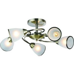 Потолочная люстра Arte Lamp A6056PL-5AB подвесная люстра arte lamp american diner a9366lm 5ab