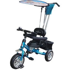 Велосипед трехколёсный Lexus Trike Volt (MS-0575) голубой велосипед трехколесный funny scoo volt air ms 0576 фиолетовый