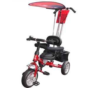 Велосипед трехколёсный Lexus Trike Volt (MS-0575) красный велосипед трехколесный funny scoo volt air ms 0576 фиолетовый