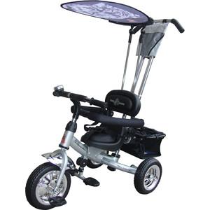 Велосипед трехколёсный Lexus Trike Volt (MS-0575) серебро велосипед трехколесный funny scoo volt air ms 0576 фиолетовый
