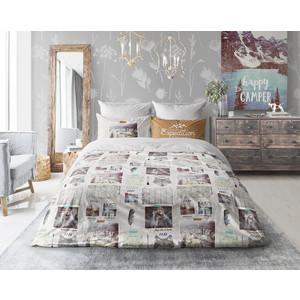 Комплект постельного белья Love me 1,5 сп, перкаль, Traveler с наволочками 50x70 (703656/711004) комплект постельного белья гармония 1 5 сп поплин барокко с наволочками 50x70 190813