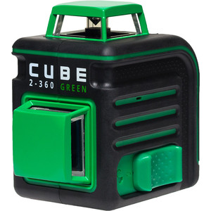 Построитель лазерных плоскостей ADA CUBE 2-360 Green Ultimate Edition уровень ada cube 2 360 green ultimate edition
