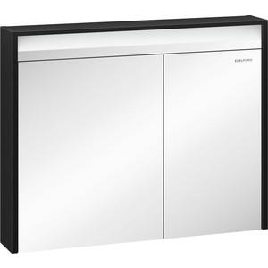 Зеркальный шкаф Edelform Карино 94x74,8 черный эбони (2-750-43-S)