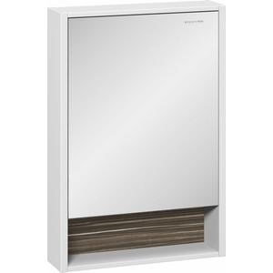 Зеркальный шкаф Edelform Белль 57x83 макассар (2-761-44)