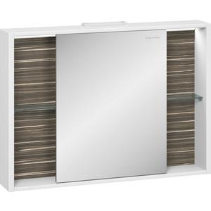 Зеркальный шкаф Edelform Белль 95x68,4 макассар (2-763-44-S)