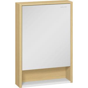 Зеркальный шкаф Edelform Уника 56,6x83 дуб гальяно (2-746-45)