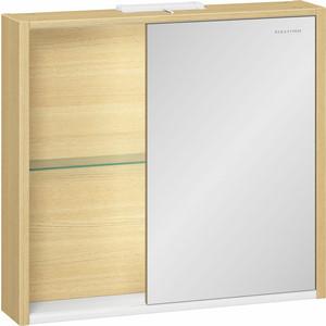 Зеркальный шкаф Edelform Уника 75x69,6 дуб гальяно (2-744-45-S)