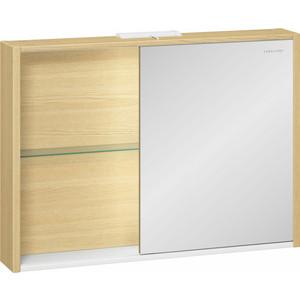 Зеркальный шкаф Edelform Уника 94,6x69,6 с откатной дверцей, дуб гальяно (2-741-45-S)