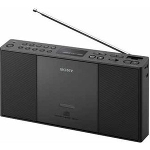 Магнитола Sony ZS-PE60 black магнитола sony zs rs60bt