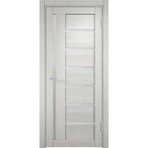 Дверь ELDORF Берлин-2 остекленная 2000х600 экошпон Слоновая кость дверь eldorf баден 1 глухая 2000х600 экошпон слоновая кость