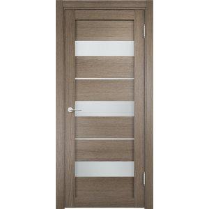 Дверь ELDORF Мюнхен-2 остекленная 2000х600 экошпон Дуб дымчатый дверь eldorf баден 1 глухая 2000х600 экошпон слоновая кость
