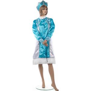 Костюм Snowmen костюм снегурочки размер S с кокошником (Е70174) недорого