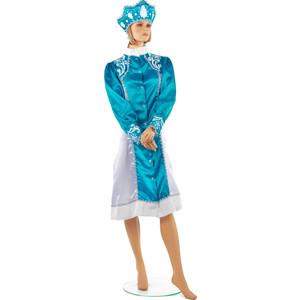 Костюм Snowmen костюм снегурочки размер М с кокошником (Е93324-2)