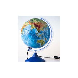 Globen Глобус Земли физико-политический с подсветкой 250 серия Евро (Ке012500191)