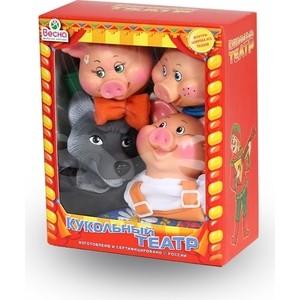 Кукольный театр Весна 4 персонажа с ширмой №2 (В2929) цены онлайн