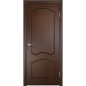 Дверь VERDA Лидия глухая 2000х900 ПВХ Венге дверь verda тип с 6 г глухая 2000х350 мдф финиш пленка итальянский орех