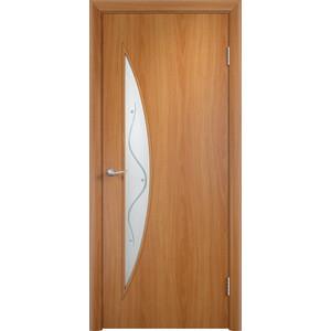 Дверь VERDA Тип С-6(Ф) остекленная 1900х600 МДФ финиш-пленка Миланский орех отопление в энергоэффективном доме стоит в три раза меньше чем в обычном строительство и ремонт midiman ru midiman ru