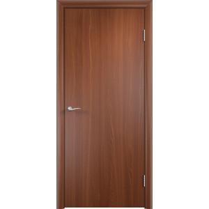 Дверь VERDA 2000х300мм глухая МДФ финиш-пленка Итальянский орех дверь verda богемия глухая 2000х800 пвх венге