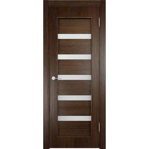 Дверь VERDA 32d остекленная 2000х700 экошпон Дуб табак цена