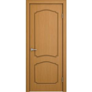цена на Дверь VERDA Каролина глухая 1900х550 шпон Дуб