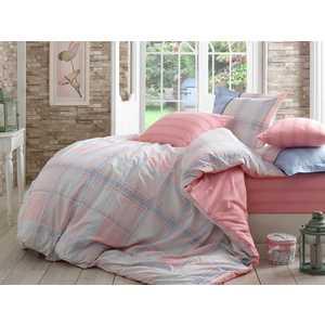Комплект постельного белья Hobby home collection Евро, поплин, Carmela, розовый (1501001111)