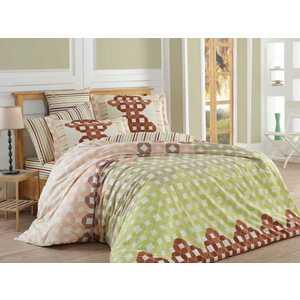Комплект постельного белья Hobby home collection 2-х сп, поплин, Marsella, коричневый (1607000062)