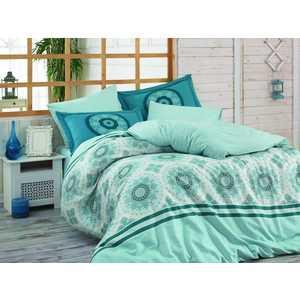 цена Комплект постельного белья Hobby home collection 1,5 сп, поплин, Silvana, синий (1501001098) онлайн в 2017 году