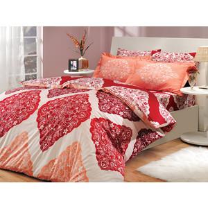 Комплект постельного белья Hobby home collection 1,5 сп, поплин, Amanda, красный (1501000033)