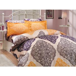 Комплект постельного белья Hobby home collection 2-х сп, поплин, Amanda, фиолетовый (1501000619)