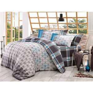 Комплект постельного белья Hobby home collection 2-х сп, поплин, Belen, серый (1501000901)