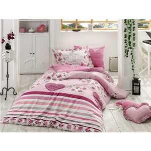 цена Комплект постельного белья Hobby home collection Семейный, поплин, Bella, фиолетовый (1501000975) онлайн в 2017 году
