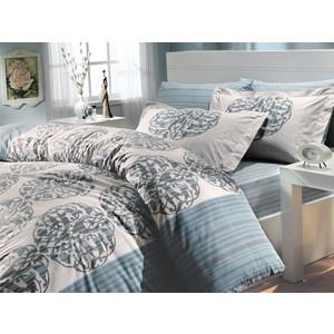 Комплект постельного белья Hobby home collection 1,5 сп, поплин, Belinda, бирюзовый (1501000061)