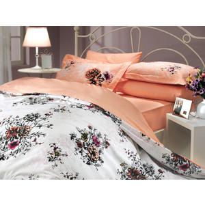 цена Комплект постельного белья Hobby home collection 1,5 сп, поплин, Carmen, персиковый (1501000082) онлайн в 2017 году