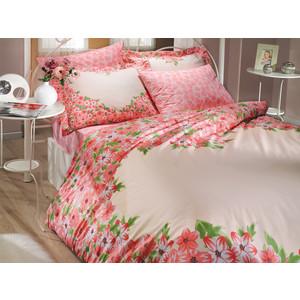 цена Комплект постельного белья Hobby home collection 2-х сп, поплин, Esperanza, красный (1501000645) онлайн в 2017 году