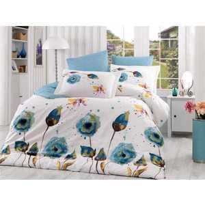 Комплект постельного белья Hobby home collection 1,5 сп, поплин, Veronika, бирюзовый (1501000885)