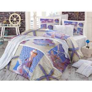 Комплект постельного белья Hobby home collection Евро, поплин, 3D Ocean, (1501000933) вертикальный велоэллипсоид ammity ocean ob 50