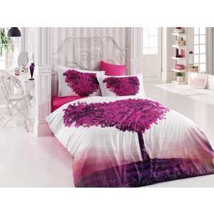 цена Комплект постельного белья Hobby home collection Евро, поплин, 3D Paradise, (1501000934) онлайн в 2017 году