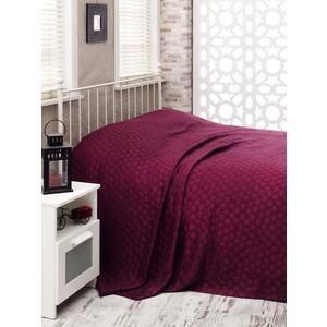 Покрывало Hobby home collection 2-х сп, бамбук, Diamond spot, темно-фиолетовый (1501000368)