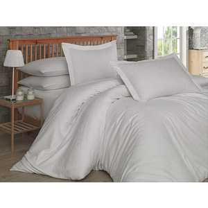 Комплект постельного белья Hobby home collection Семейный, сатин, Damask, кремовый (1607000025) цена и фото