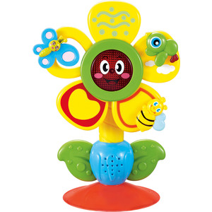 кружка на присоске happy baby baby cup with suction base 15022 red Музыкальная игрушка на присоске Happy Baby FUN FLOWER (330072)