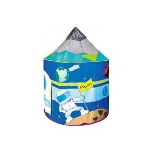 Игровая палатка Ching-Ching Космический корабль (круглый) 106х135h см + 100 шаров (CBH-17) палатки домики calida дом палатка 100 шаров космический корабль