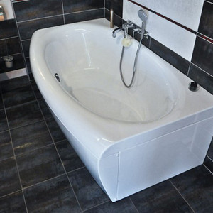 Акриловая ванна Ravak Evolution 170x97, без гидромассажа (C851000000) акриловая ванна ravak asymmetric 170 левосторонняя без гидромассажа c481000000
