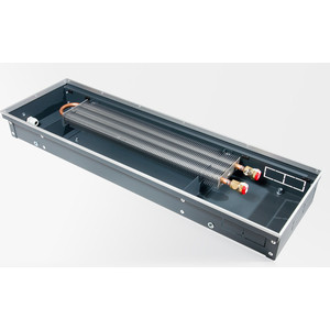 конвектор отопления techno внутрипольный с естественной конвекцией без решетки kvz 250 120 2000 Внутрипольный водяной конвектор Techno без решетки (KVZ 350-85-2400)