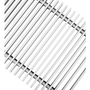 Декоративная решетка Techno для конвектора 350х2000 (РРА 350-2000/С)