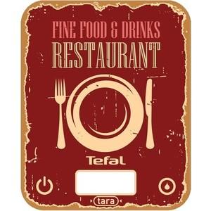 Весы кухонные Tefal BC5104V1 весы кухонные tefal bc5104v1 красный рисунок
